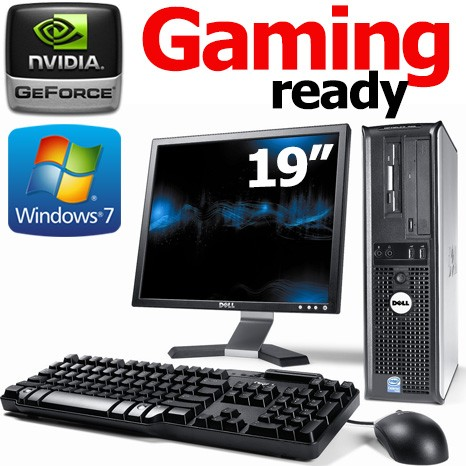 SIMPLE GAMING DESKTOP COMPLETE with 19inch TFT